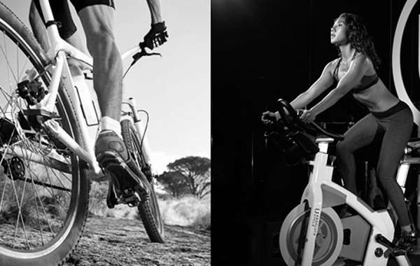 Calories Burned Cycling on a Trainer Vs. Outdoors