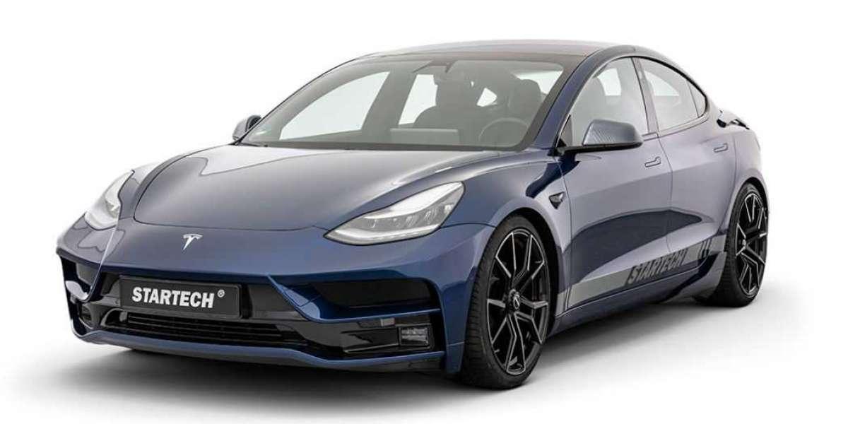 German tuner Startech gives the Tesla Model 3 a makeover