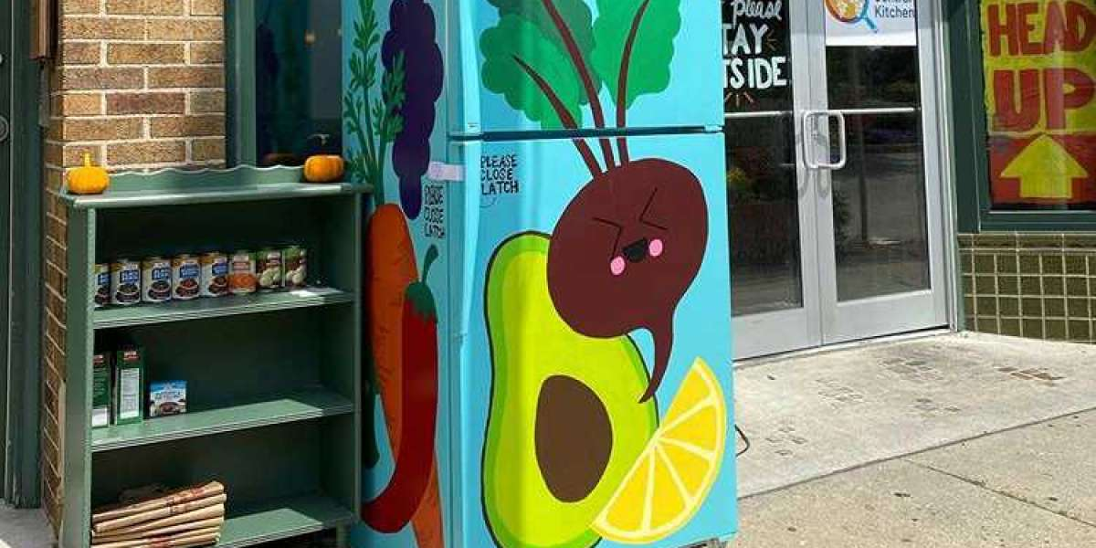 The colourful fridges popping up on American streets